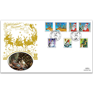 2012 Christmas Stamps GOLD 500