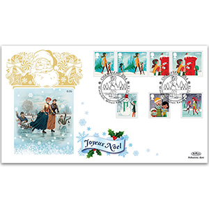 2014 Christmas Stamps GOLD 500