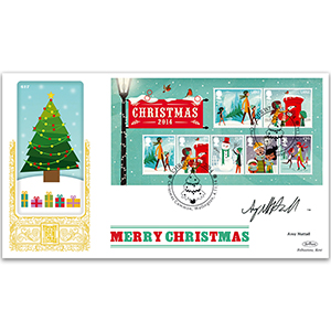 2014 Christmas M/S GOLD 500 - Signed by Amy Nuttall
