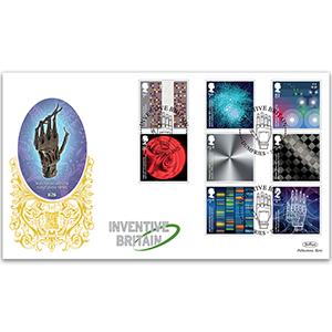 2015 Inventive Britain Stamps GOLD 500