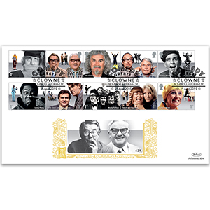 2015 Comedy Greats Stamps GOLD 500