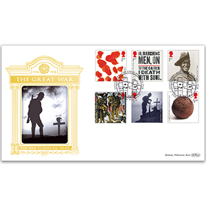2015 WWI Stamps GOLD 500