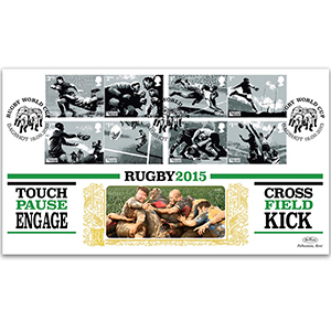 2015 Rugby World Cup Stamps GOLD 500
