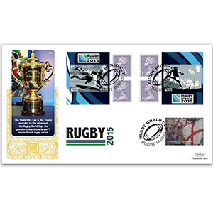 2015 Rugby World Cup Retail Booklet GOLD 500