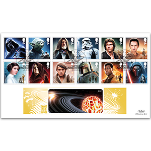 2015 Space Adventure Stamps GOLD 500