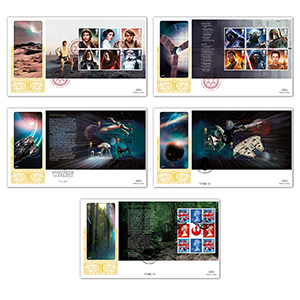 2015 Space Adventure PSB GOLD 500 - Set of 5