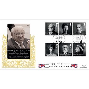 2016 British Humanitarians Stamps GOLD 500