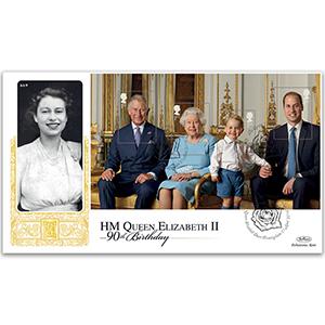2016 Queen's 90th PSB GOLD 500 - (P4) M/S Pane