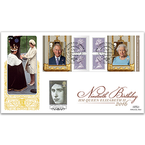 2016 Queen's 90th Retail Booklet No.1 GOLD 500
