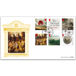 2016 WW1 Stamps GOLD 500