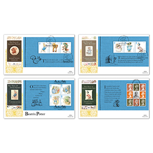 2016 Beatrix Potter PSB - GOLD Set of 4