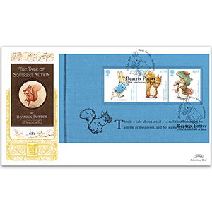 2016 Beatrix Potter PSB GOLD 500 - (P2) Squirrel Nutkin