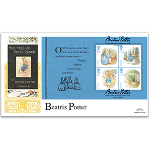 2016 Beatrix Potter PSB GOLD 500 - (P1) M/S Pane