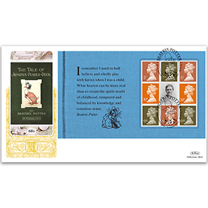 2016 Beatrix Potter PSB GOLD 500 - (P4) Mixed Definitive Pane