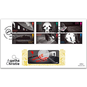 2016 Agatha Christie Stamps GOLD 500