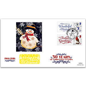 2016 50 Years of Christmas Generic Sheet GOLD 500