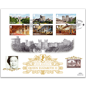 2017 Windsor Castle Stamps GOLD 500