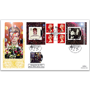 2017 David Bowie Retail Booklet GOLD 500