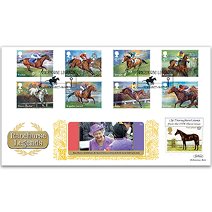 2017 Racehorse Legends Stamps GOLD 500