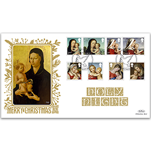 2017 Christmas Stamps GOLD 500