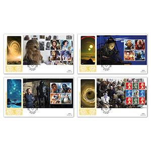 2017 Star Wars PSB GOLD 500 - Set of 4