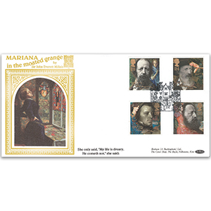 1992 Tennyson Death Centenary GOLD 500 Cover