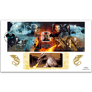 2018 Game Of Thrones M/S GOLD 500