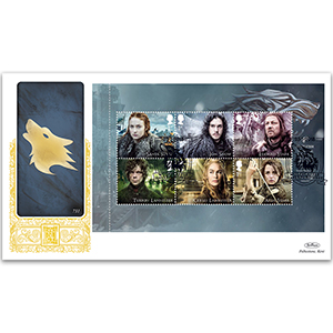 2018 Game of Thrones PSB GOLD 500 - (P1) 1st x 6 Pane
