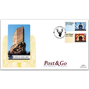 2018 Game of Thrones Post & Go Stamps - Benham GOLD 500 Cover