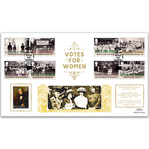 2018 Votes For Women Stamps GOLD 500