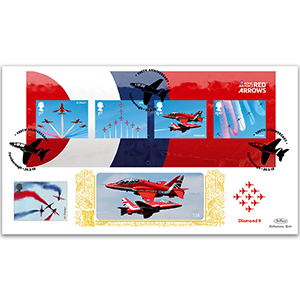 2018 RAF Red Arrows M/S GOLD 500