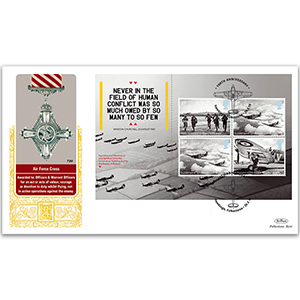 2018 RAF 100th Anniversary PSB GOLD 500 - (P3) 4 x 2015 Battle of Britain 4 x 1st