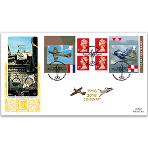 2018 RAF 100th Anniversary Retail Booklet GOLD 500