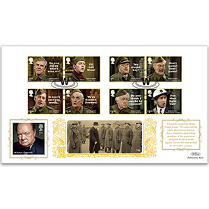 2018 Dad's Army Stamps GOLD 500