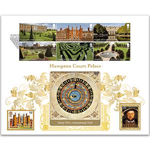 2018 Hampton Court Palace Stamps Gold 500