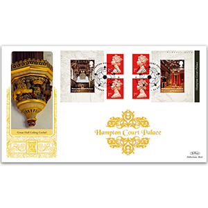 2018 Hampton Court Palace Retail Booklet Gold 500