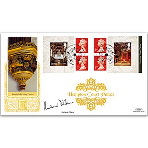 2018 Hampton Court Palace Retail Booklet Gold 500 - Signed by Richard Dillane