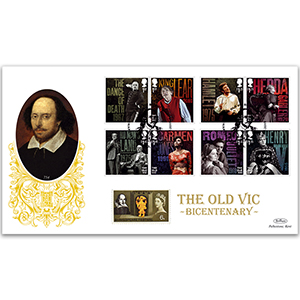 2018 The Old Vic Bicentenary Gold 500