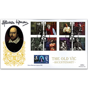 2018 The Old Vic Bicentenary Gold 500 Signed Dame Maureen Lipman DBE