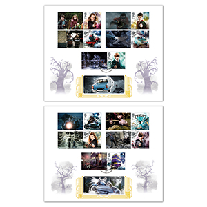2018 Harry Potter Generic Sheet Gold 500 Pair