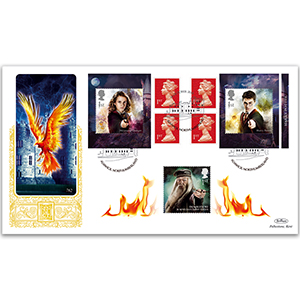2018 Harry Potter Retail Booklet Gold 500