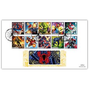 2019 Marvel Stamps Gold 500