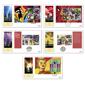 2019 Marvel PSB Gold 500 Set of 5 Covers