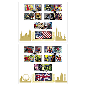 2019 Marvel Generic Sheet Gold 500 Pair of Covers