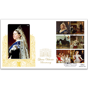 2019 Queen Victoria Stamps Gold 500