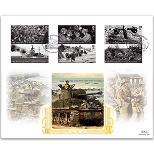 2019 D-Day Stamps Gold 500
