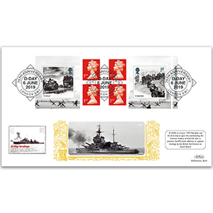 2019 D-Day Retail Booklet Gold 500