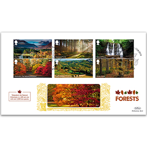 2019 Forests Stamps Gold 500