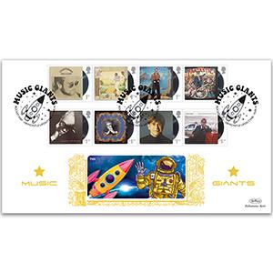 2019 Elton John Stamps Gold 500