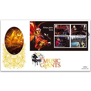 2019 Elton John M/S Gold 500